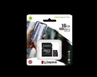 Kingston 16 GB microSDHC Class 10 UHS-I Canvas Select Plus + SD Adapter SDCS2/16GB